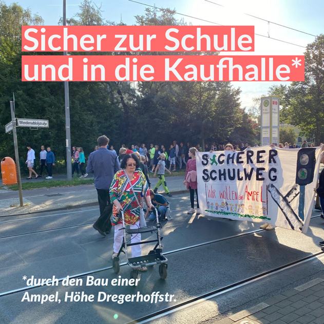 Ampel Dregerhoffstr.
