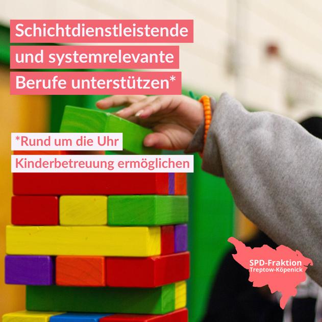 Kinderbetreuung ermöglichen
