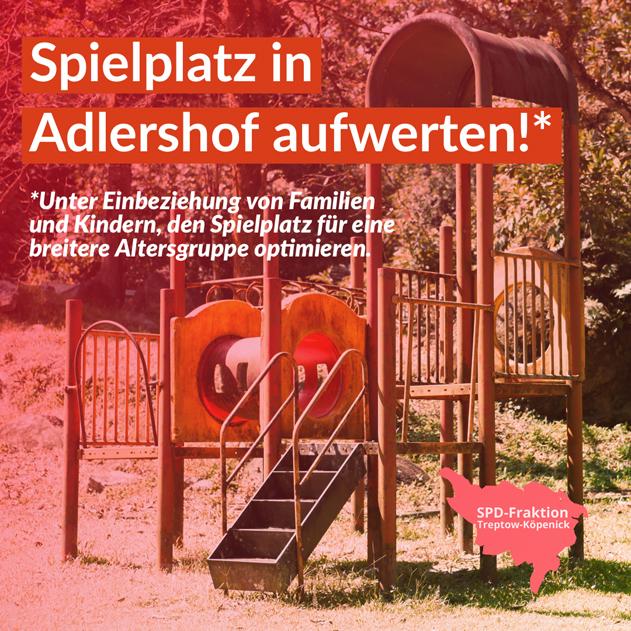 Spielplatz Adlershof
