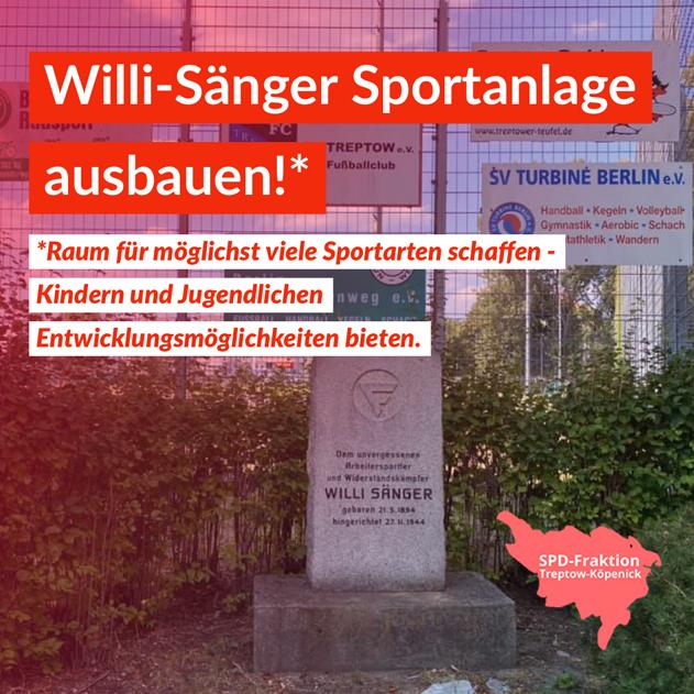 Willi Sänger Sportanlage
